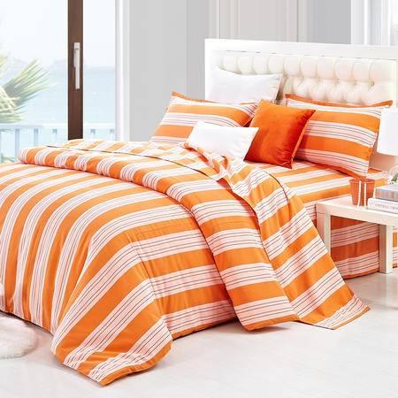 床上用品老粗布四件套夏季单人双人全棉纯棉加厚家纺1.8米床包邮