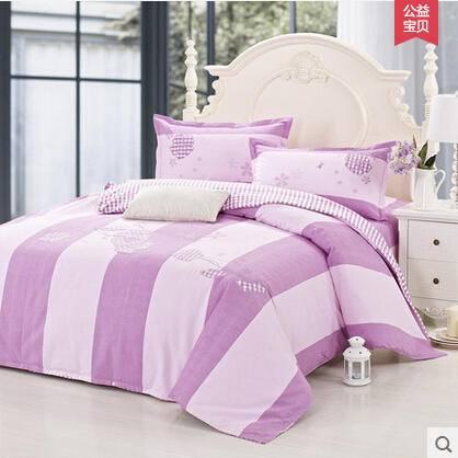 佳卉家纺 绣花床品四件套 全棉 纯棉 床上用品床单4件套 2.0米床