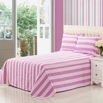 佳卉纯棉老粗布床单单件 全棉被单1.8米床单双人床单2.0*2.3