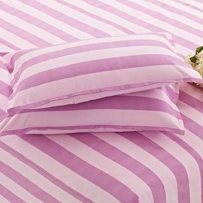 佳卉老粗布信封枕头套 纯棉全棉单人枕套一对第二对优惠5元花色随机发货