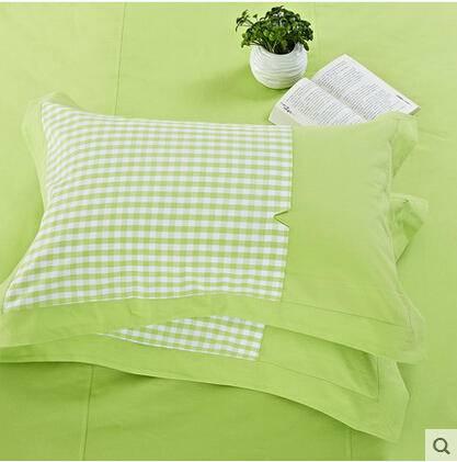 佳卉 纯棉枕套一只 公主风粗布单人全棉枕头套 加厚48 78cm第二只优惠5元