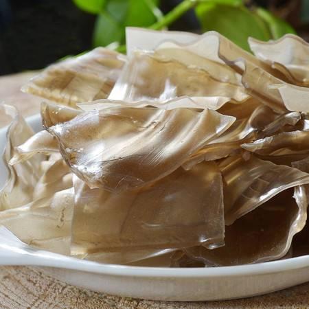 【山东特产】红薯粉皮纯手工制作无添加剂绿色食品粉条酸辣粉皮1000g