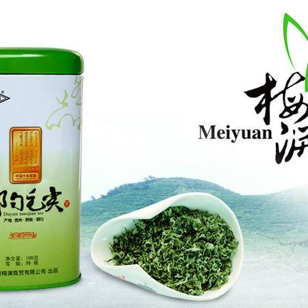 都匀毛尖特级100g绿色听装-有机高山茶园安全放心茶