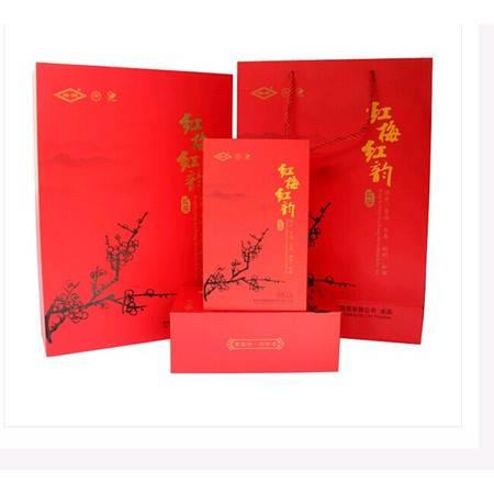 红梅红韵特级产品紧细弯曲显锋毫 匀齐净 乌褐油润梅渊茶
