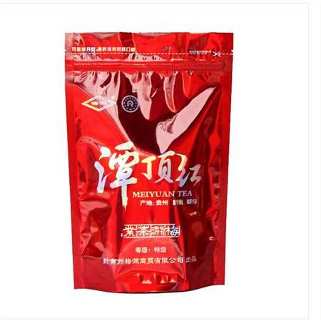 梅园茶业销售高山茶叶潭顶红拉链袋装特级红茶品质保证