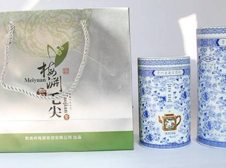 贵州高山茶场 都匀毛尖大小青花听装 精美外包送礼精品茶叶