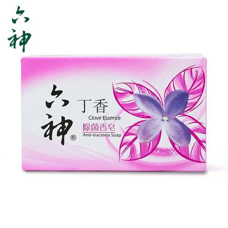 上海家化六神香皂除菌深层清洁有效杀菌个人护理(丁香)125g