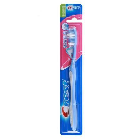 Crest佳洁士梯形洁净牙刷(舒适中毛单支装) 清洁牙齿