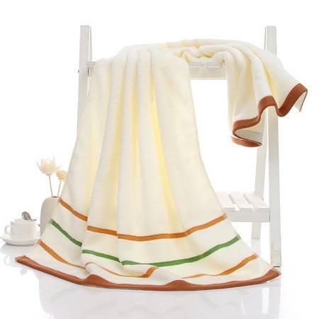 正典牌 全棉吸水浴巾 条纹纯棉高档浴巾空调被 随机颜色1条