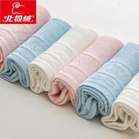北极绒女士纯棉袜子 6双礼盒装 女士纯棉袜子 春夏季纯色袜子