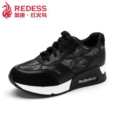 秋季跑步鞋运动休闲女鞋韩版网面松糕鞋韩版潮流舒适透气女鞋