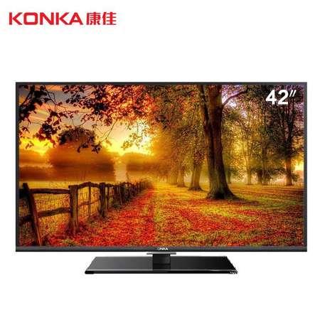 【江西农商】康佳LED42F3700NF 42英寸 全高清网络液晶电视42寸全高清