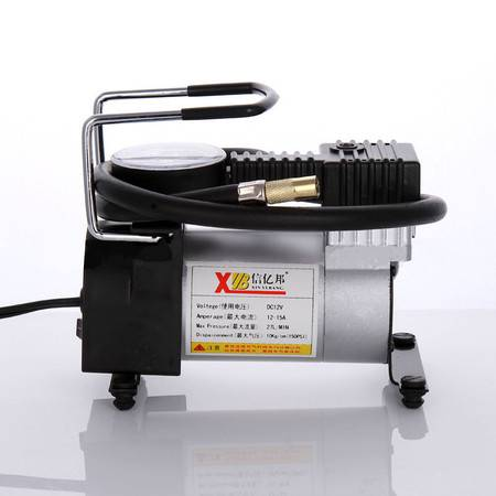 【江西农商】车载迷你充气泵车用应急轮胎打气机金属单缸高压充气泵