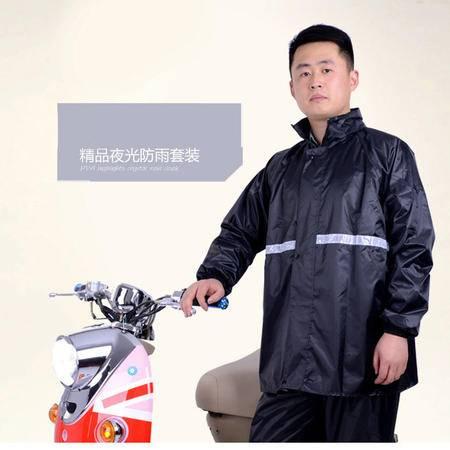 牛津纺防雨雨衣套装成人男女户外电动车雨衣摩托车骑行雨衣裤