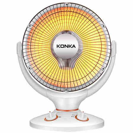 康佳/KONKA 小太阳取暖器家用暖气办公烤火炉静音热风机节能摇头电暖气