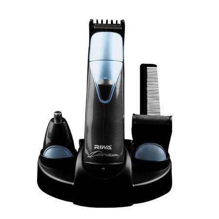 雷瓦专业三合一电动修剪器电推子理发器鼻毛器刮胡剃须刀