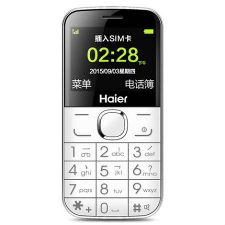 Haier/海尔 M328V老人机手机直板大屏按键功能老年人大字大声移动