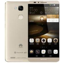 华为 MATE7 高配版 移动/联通4G手机 金色 优惠套装送钢化膜
