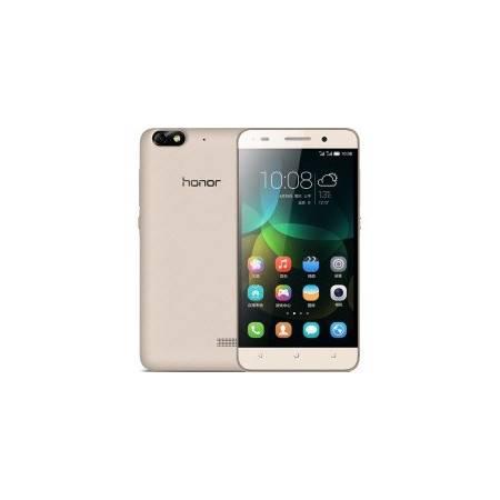 华为 荣耀畅玩4C 增强版 移动联通4G手机 金色 套装送钢化膜