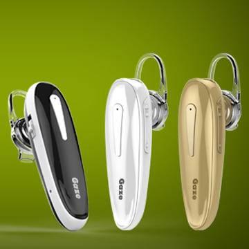 格智 A7 立体声蓝牙耳机 多点连接 蓝牙自拍 白色