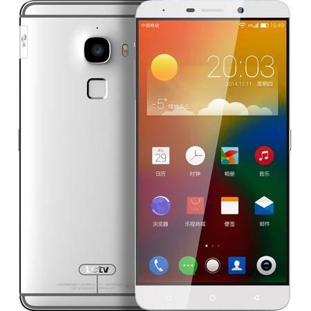 乐视 Letv 乐MAX (X900+) 全网通 移动联通电信4G手机 银色 64G 套装送钢化膜