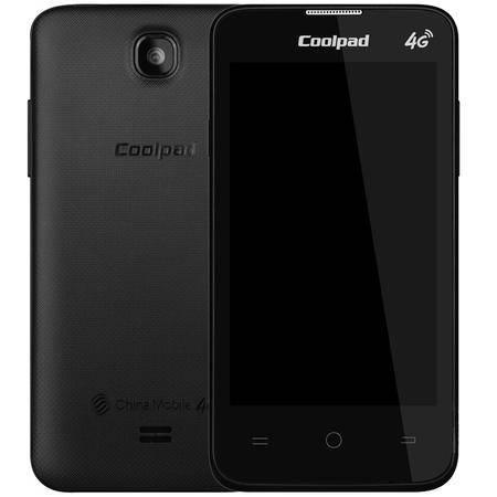 酷派 8017 移动4G手机 黑色