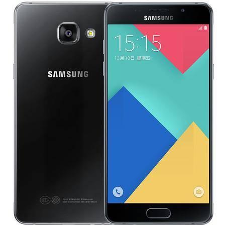 三星 Galaxy A5 (A5100) 全网通 移动联通电信4G手机 黑色 套装送钢化膜