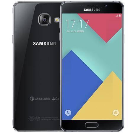 三星 Galaxy A7 (SM-A7108) 黑色 移动4G手机 双卡双待