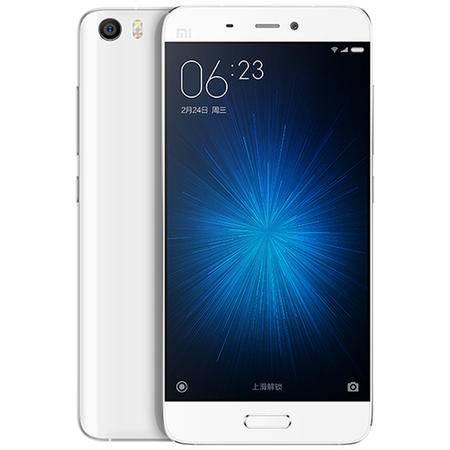 小米 小米5全网通版 移动/联通/电信4G手机 白色 32G版