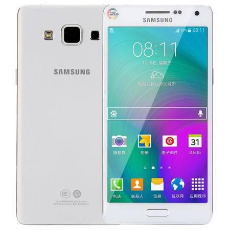 三星 Galaxy A5 (A5000) 移动联通4G手机 白色 套装送钢化膜