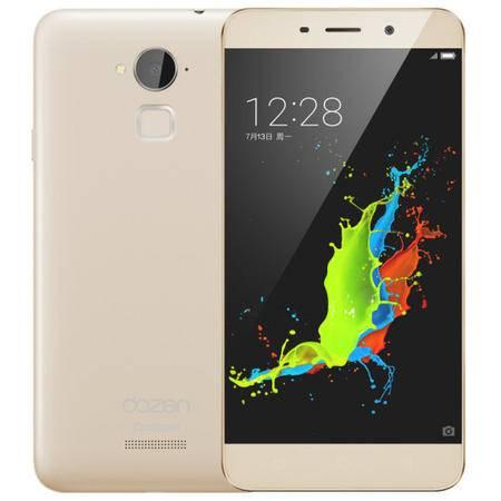 酷派 大神NOTE3 移动4G手机 金色 套装送钢化膜
