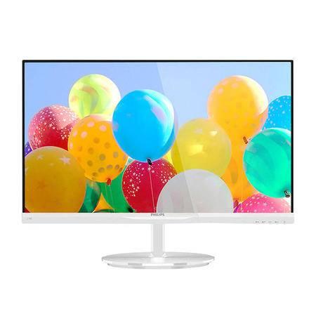 飞利浦 224E5QSB/W 21.5英寸 IPS屏超窄边框液晶电脑显示器