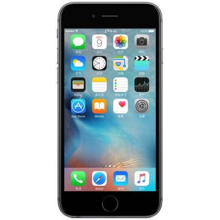 苹果 Apple iPhone6 (A1586)移动联通电信4G手机 灰色 16G 套装送钢化膜