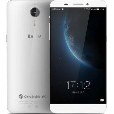 乐视 Letv 乐1 (X608) 移动4G手机 银白色 16G 套餐送钢化膜