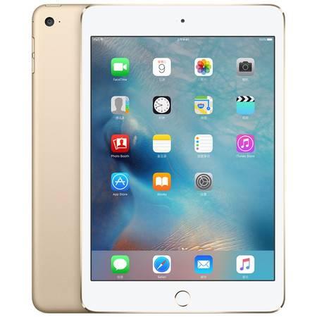 苹果 Apple iPad Mini4 (A1538) 128G 金色 套装送钢化膜