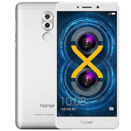华为 荣耀畅玩6X 3GB+32GB版 全网通 移动联通电信4G手机 银色