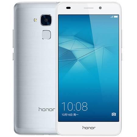 华为 荣耀畅玩5C 移动联通4G手机 银色 套装送钢化膜