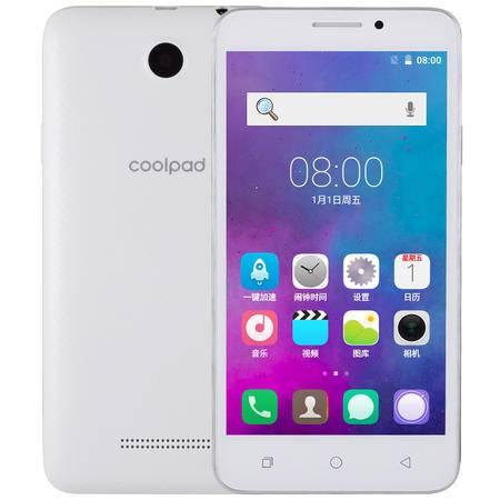 酷派 5720 全网通 移动联通电信4G手机 白色