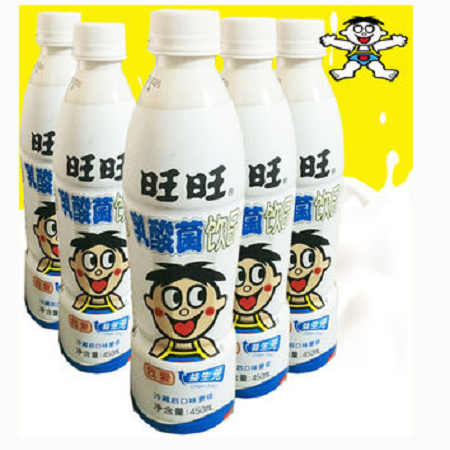 【员工超市】450ml旺仔乳酸菌
