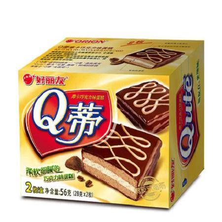 【员工超市】56g好丽友Q蒂2P