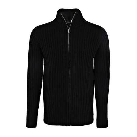 LaRedoute 男式 针织 高领 拉链 开衫 OC531