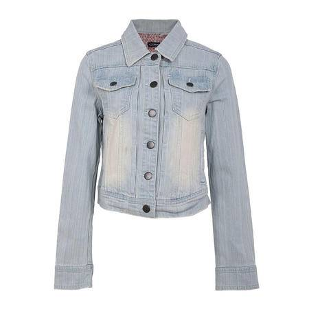 LaRedoute 女式 印花 袖口 牛仔夹克衫 VV671