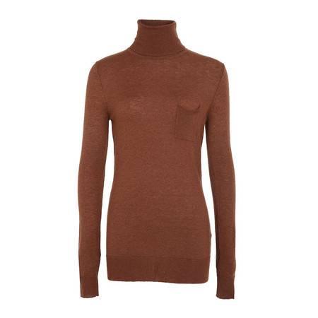 LaRedoute 女式 纯色 高领 羊毛 针织 套衫 YU419