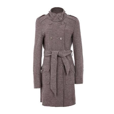 女式 羊毛 双排扣 大衣 GI636