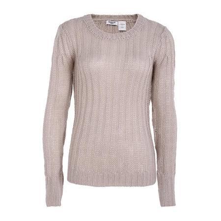 LaRedoute 女式 大圆领 螺纹 针织套衫 WY456
