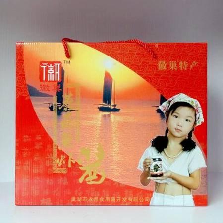 徽巢   酱类 调味酱 拌酱 小菜    蘑菇鱼虾酱礼盒 1x6  1440g