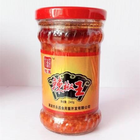 徽巢  调味酱拌酱食用酱   辣椒王 240g