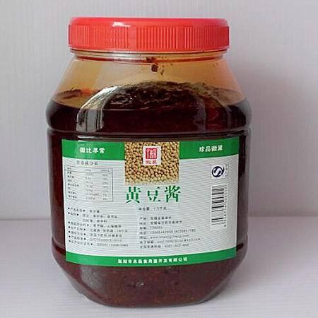 徽巢 调味酱 调味料  1.5kg  黄豆酱