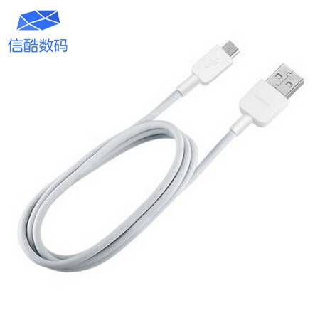 华为 HUAWEI USB转Micro USB数据传输 充电二合一安卓通用数据线 5V/2A(白色)