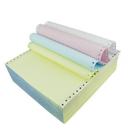 泛美达 全木浆高级电脑打印纸 241-4四联彩色 5箱/件(整张、二等分、三等分)